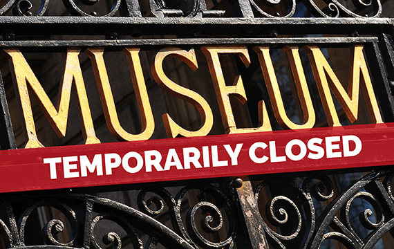 What do you do about the members when the museum is closed?